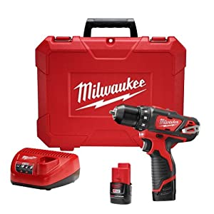 "Milwaukee 2407-22 M12 3/8"" Drill/Driver Kit"