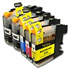 YoYoInk Compatible Replacement for Brother LC103 103 Ink Cartridges (2 Black , 1 Cyan , 1 Magenta , 1 Yellow , 5 Packs) for Brother DCP-J132W DCP-J152W DCP-J172W DCP-J4110DW DCP-J552DW DCP-J752DW MFC-J245 MFC-J285DW MFC-J4310DW MFC-J4410DW MFC-J450DW MFC-J4510DW MFC-J4610DW MFC-J470DW MFC-J4710DW MFC-J475DW MFC-J650DW MFC-J6520DW MFC-J6720DW MFC-J6920DW MFC-J870DW MFC-J875DW