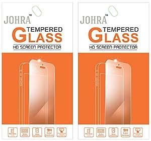 Johra Pack of 2 Tempered Glass Screen Scratch Guard For Coolpad Dazen1