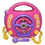 "Idena 6805340 Kinder CD-Player ""SING-A-LONG"" pink mit 2 Mikrofonen und LED-Displayvon ""Idena"""