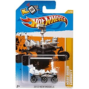 Amazon.com: 2012 Hot Wheels New Models - Mars Rover ...