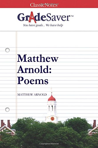 matthew arnold poems essay questions gradesaver matthew arnold poems