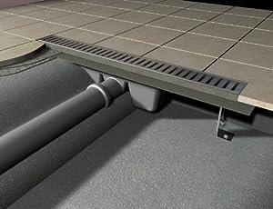 Duschrinne 1000 mm Bodenablaufrinne / Duschrinne / Ablaufrinne  BaumarktKundenbewertung und weitere Informationen