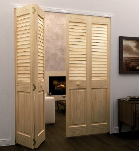 Bi-fold Door, Louver Panel Plantation 1x24x80 (24 X 24 Louver compare prices)