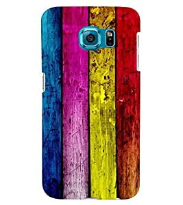 MakeMyCase Color Woud for Samsung Galaxy S6