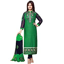 Yati Cotton Embroidery Party Wear Designer Dress Material