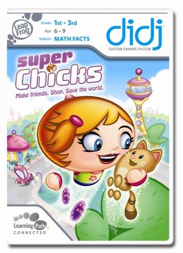 LeapFrog  Didj Custom Learning Game Super Chicks! - 1