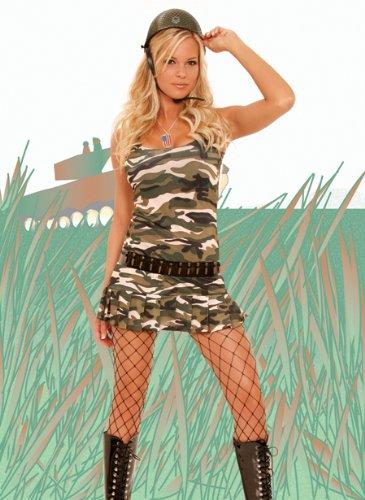9722 Cadet Cutie Costume Size: S