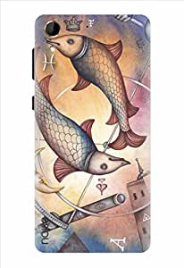 Noise Imaginative Pisces Printed Cover for HTC Desire 728G Dual Sim