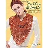 Sock-Yarn Shawls: 15 Lacy Knitted Shawl Patterns ~ Jen Lucas