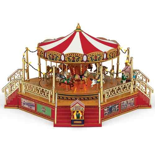 Gold Label World's Fair Boardwalk Carousel