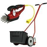 バロネス 芝刈り機セット(手動式芝刈り機LM4D&コード付バリカン式芝刈り機CL170)
