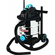 Channellock 8 Gallon Stainless Steel Wet/Dry Vacuum-8GAL SS 4HP WET/DRY VAC