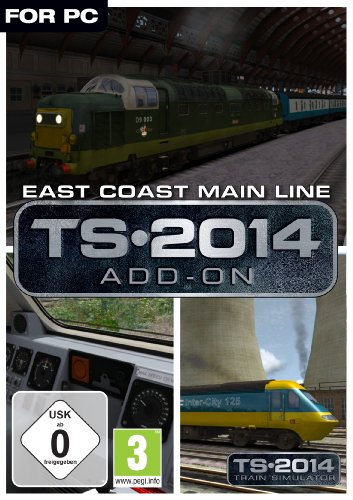 East Coast Main Line Route Add-On Online Code (PC)