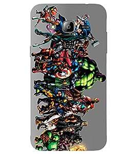 Kingcase Printed Back Case Cover For Samsung Galaxy J3 2016 Edition - Multicolor