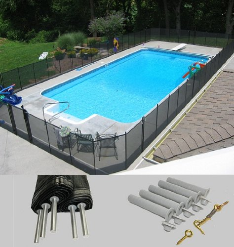 Life Saver V110P-5 Diy Pool Fence Section front-17765