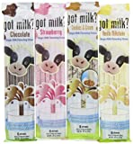 Got Milk Magic Milk Flavoring Straws, Multi flavor, 4 Count