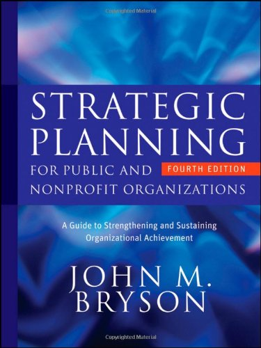 Strategic Planning for Public and Nonprofit...