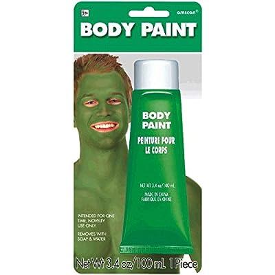 Green Body Paint, 3.4 oz
