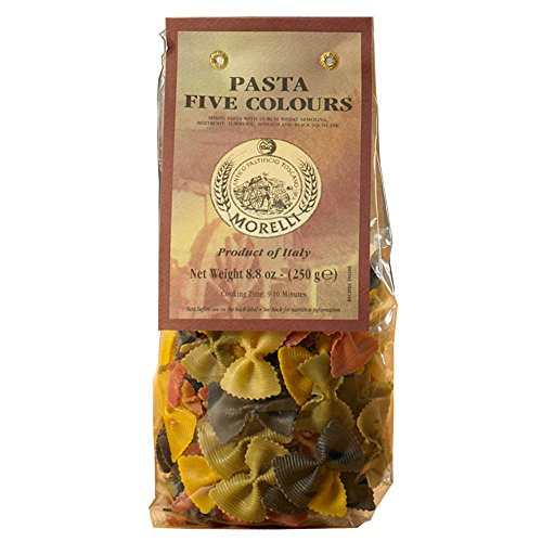 Five Color Bow Tie Pasta 250 gr. (Bow Pasta compare prices)