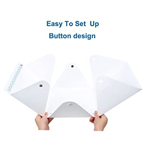 Photo Photography Studio, Folding Table Top Shooting Tents Light Box with 4 Backdrops Kit