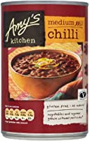 Amy's Kitchen Medium Chilli 416 g (Pack of 6)
