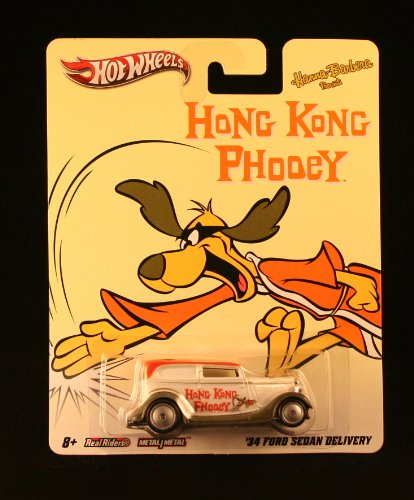 '34 FORD SEDAN DELIVERY * HONG KONG PHOOEY * Hanna-Barbera Presents Hot Wheels 2011 Nostalgia Series 1:64 Scale Die-Cast Vehicle