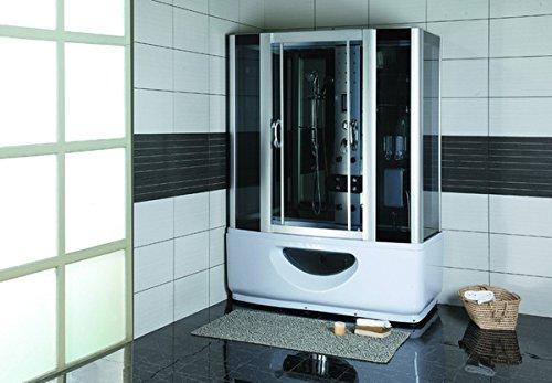 Luxus-Time Dampfduschtempel Duschabtrennung Whirlpool LXW-LTS-9944B