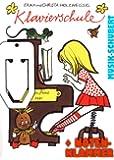 Holzweissig Klavierschule mit herausnehmbarer Tasten- und Notentabelle und Beiheft für Liedbegleitung und Improvisation inkl. praktischer Notenklammer (Taschenbuch 1996) von Erika und Christa Holzweissig (Noten/Sheetmusic)