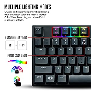Cooler Master MasterKeys Pro L - 2 years