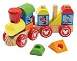 Disney Baby Mickey Mouse and Friends Wooden Stacking Train, Model: 5758