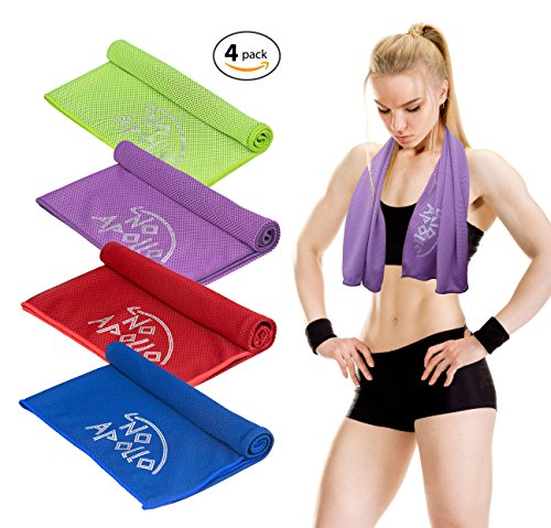 4 Piece Cooling Towel Set (36