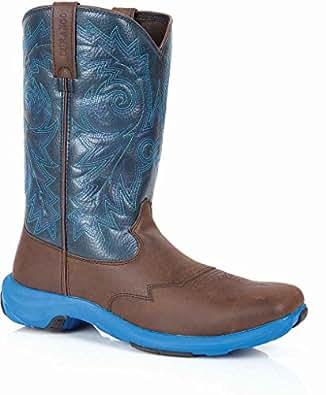 Durango Men's Rebel Lite Western Boot Square Toe Brown US