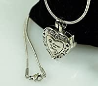 Infinity Keepsakes Pet Memorial Jewelry Stainless Steel Cremation Urn Locket and Funnel Gift Set