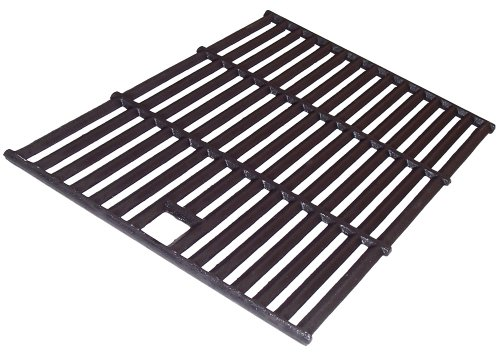Music City Metals 65041 Matte Cast Iron Cooking Grid Replacement for Select Permasteel Gas Grill Models