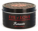 EYE OF LOVE Pheromon-Massage Kerze - Romantik