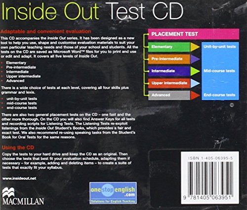 Inside Out: Test CD