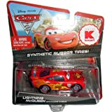 Disney / Pixar CARS 2 Movie Exclusive 155 Die Cast Car With Synthetic Rubber Tires Lightning McQueen
