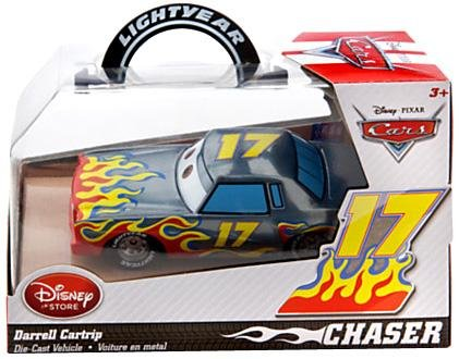 Disney / Pixar CARS Movie Exclusive 1:43 Die Cast Car Darrell Cartrip [Chase Edition]