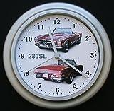 Mercedes-Benz 280SL Classic Car Wall Clock