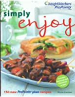 Weight Watchers Simply Enjoy Summer 2011 Pro Points cookbooks