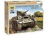 1/100 アメリカ軽戦車 M3A1 スチュアート