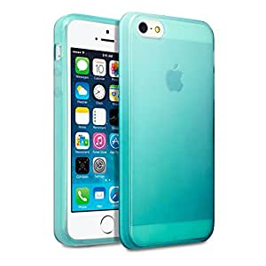 Terrapin TPU Gel Skin Case for iPhone 5S - Blue
