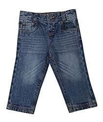 Bedazzle Regular Fit Baby Girl's Jeans