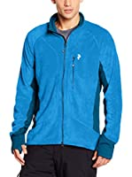 Peak Performance Chaqueta Hilo Zip (Azul)