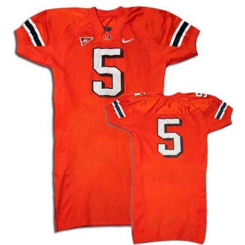 Amazon.com : Edgerrin James Miami Hurricanes Orange #5 Autographed