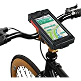 "Tigra® BikeConsole SMART 5 Waterproof Shock-Protected Universal Smartphone Hard Case Bike Mount Holder, Screens 5.3""-5.9"" - HTC, LG, Xperia, Galaxy Note 2/3/4 & more - full list in description"