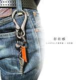 (エッジシティー)EdgeCity カラビナ キーリング キーホルダー フルメタルタイプ 日本製 110239-0000