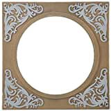 Shreenath Wooden Mirror (SH118, Golden)