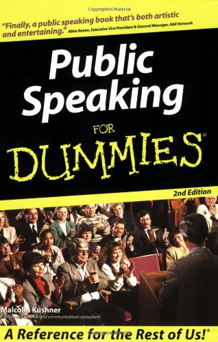 Public Speaking For Dummies front-967461